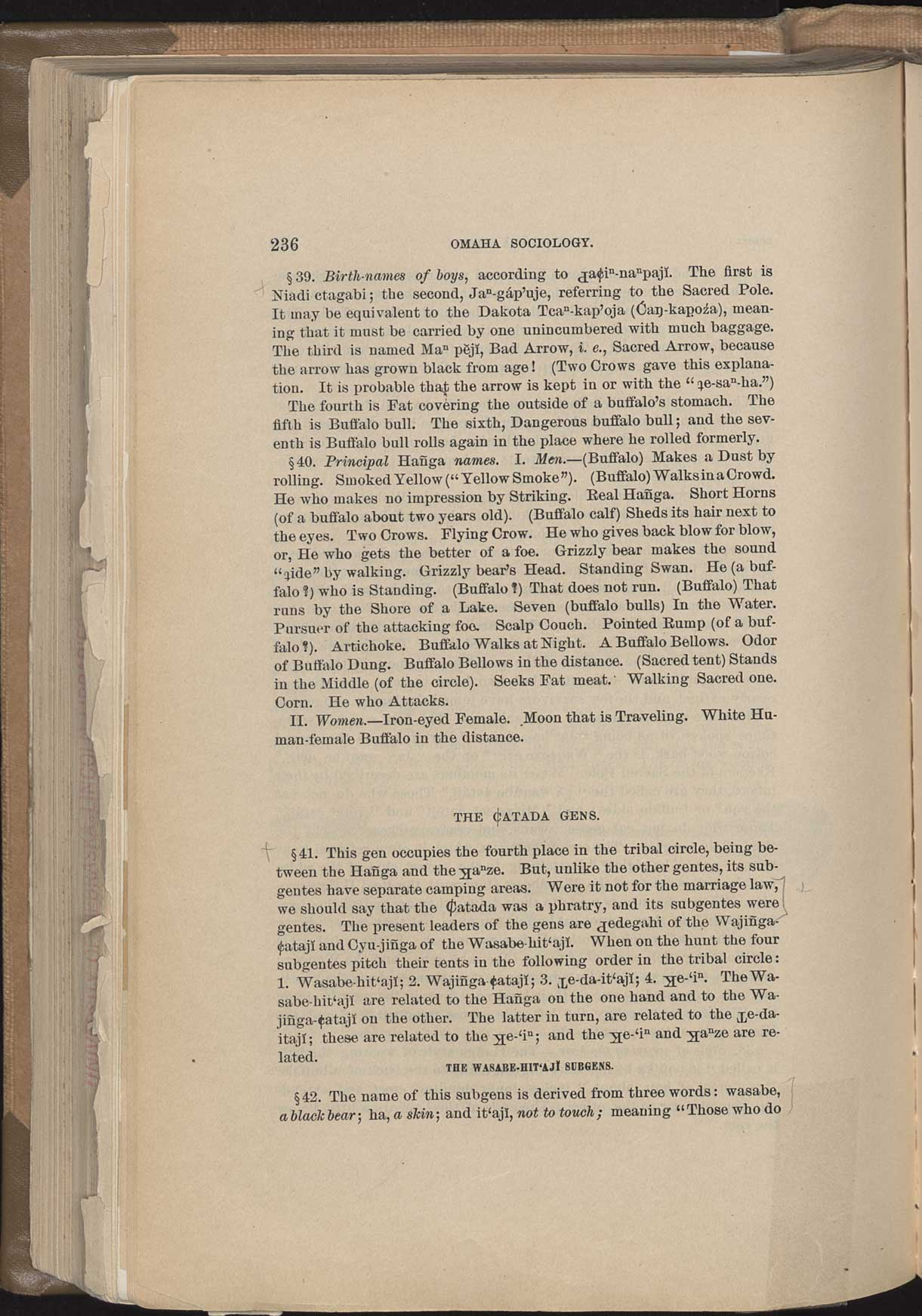 Third Annual Report of the Bureau of Ethnology: Omaha ...